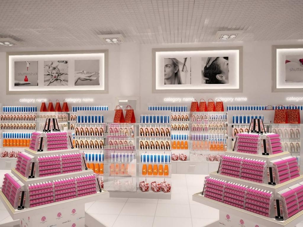 Торговое оборудование для косметики и парфюмерии купить perceive dew avon цена